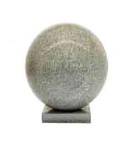 Simple 700 sphere granite bollard