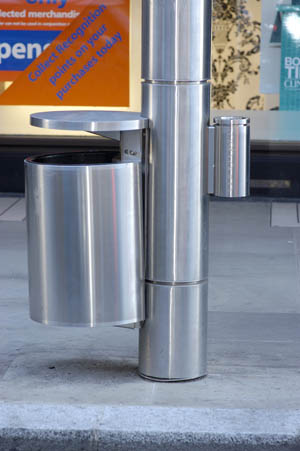 Pole Mounted Geo Bins