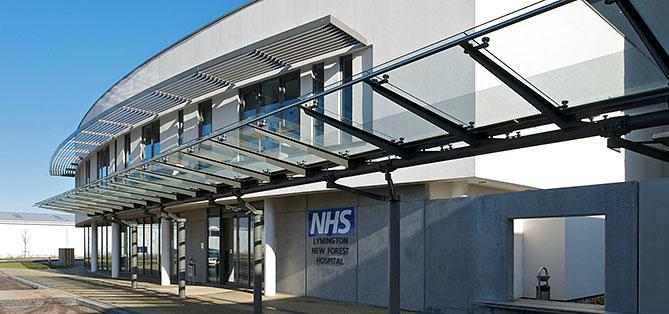 Lymington Hospital exterior