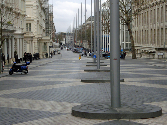 Exhibition Road in London