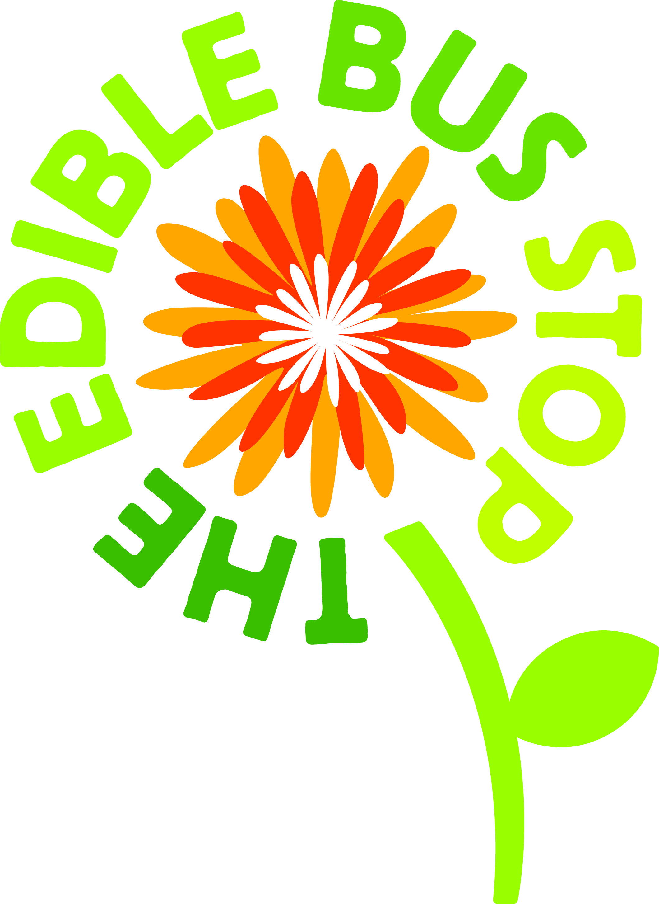 The Edible Bus Stop logo