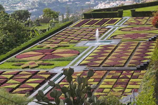5 Geometric roof garden