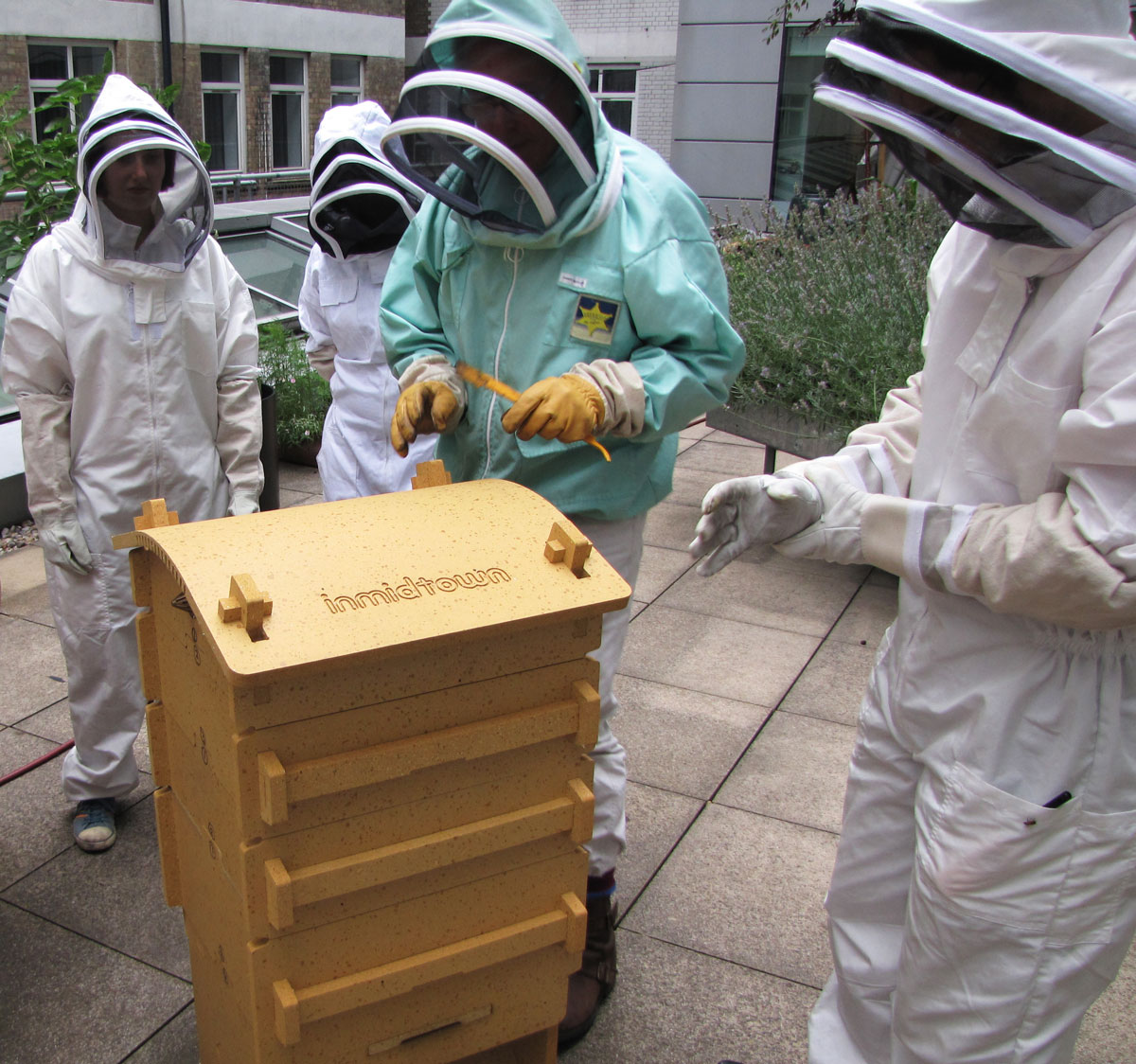 9 Corporate beekeeping