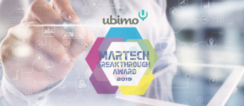 Ubimo Wins 'Best Use of Artificial Intelligence in MarTech' from the 2019 MarTech Breakthrough Awards Program