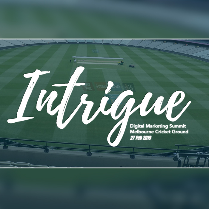 Intrigue Summit: Melbourne