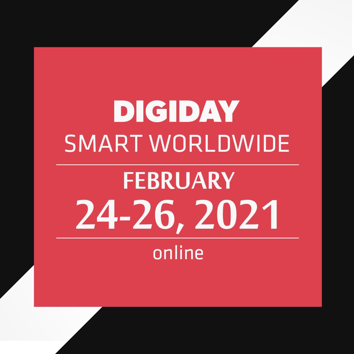 Digiday: Publishing Summit Worldwide