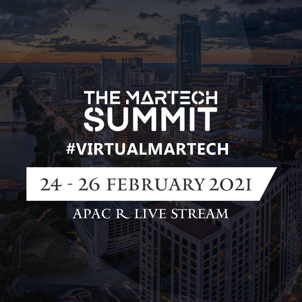 The MarTech Summit: Virtual APAC
