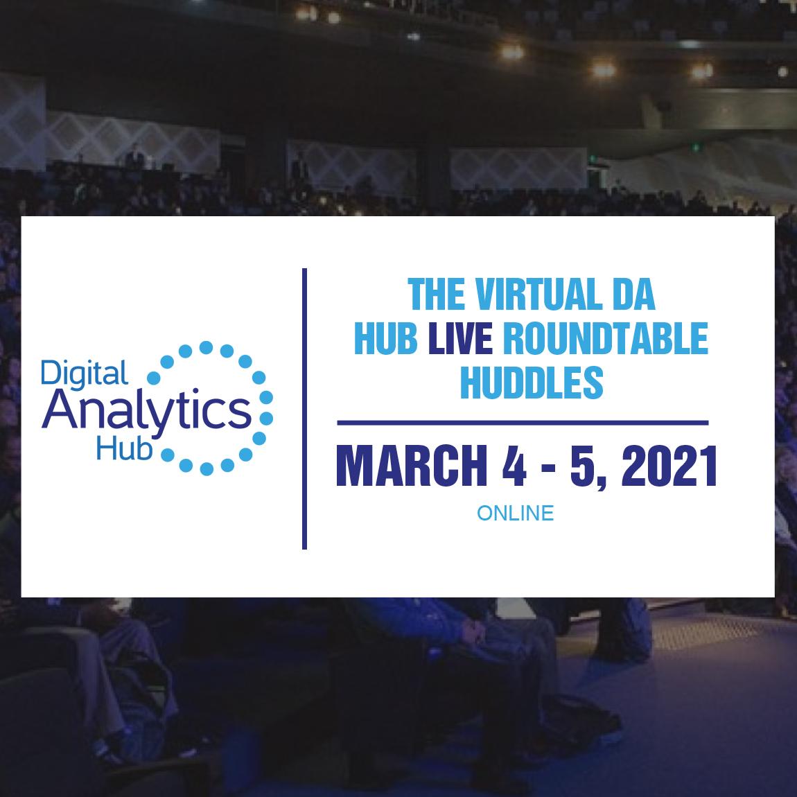 Digital Analytics Hub: Virtual