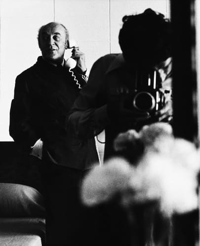 1970s With Baron Rothschild