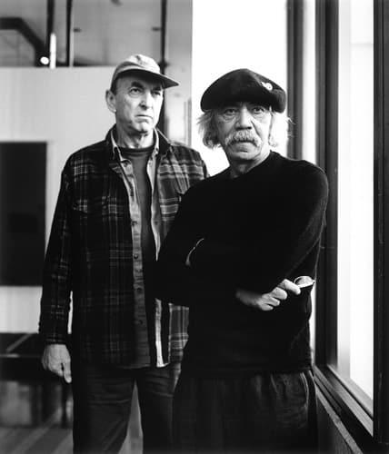 Ralph Hotere & Bill Culbert 2009