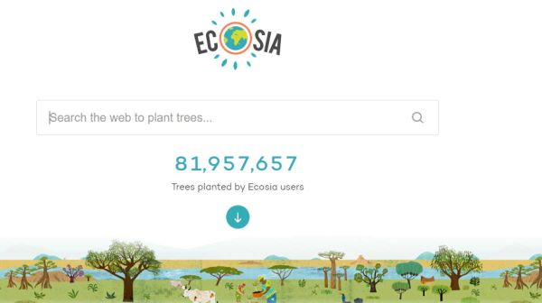 Search engine Ecosia