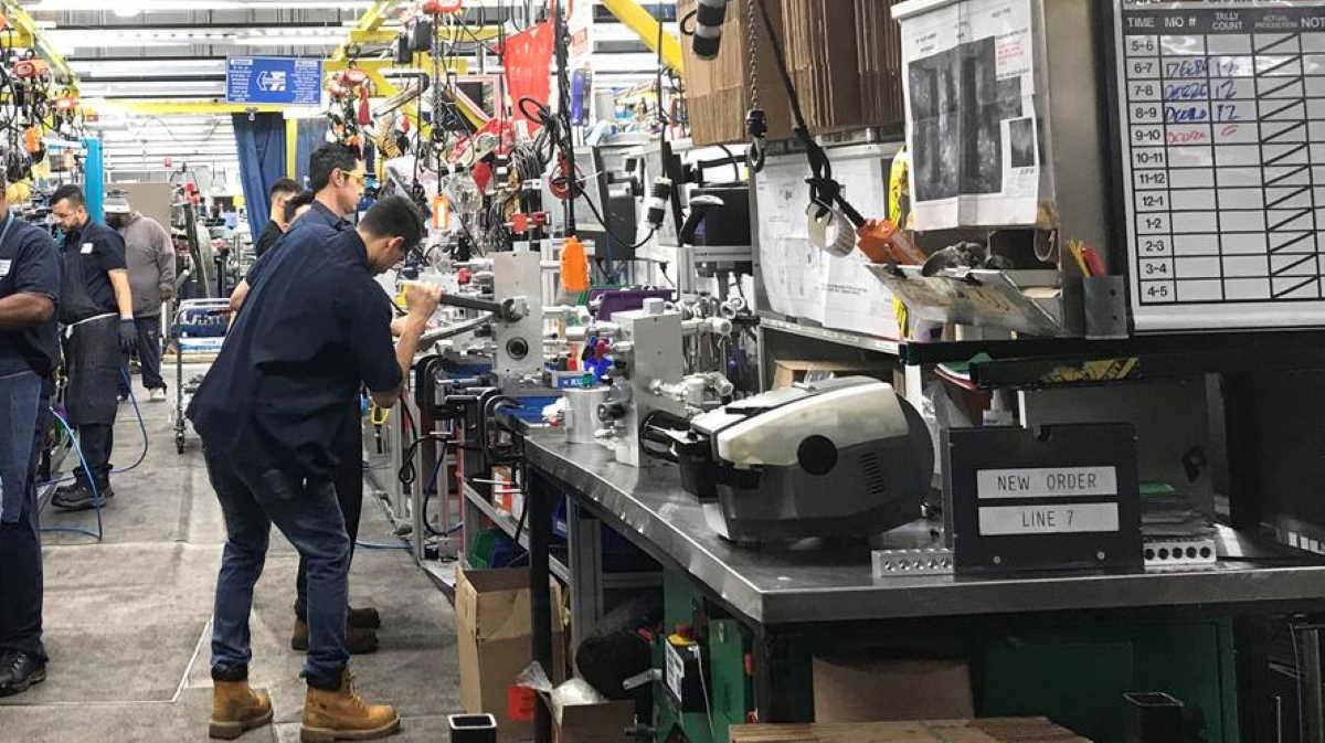 U.S. factory workers
