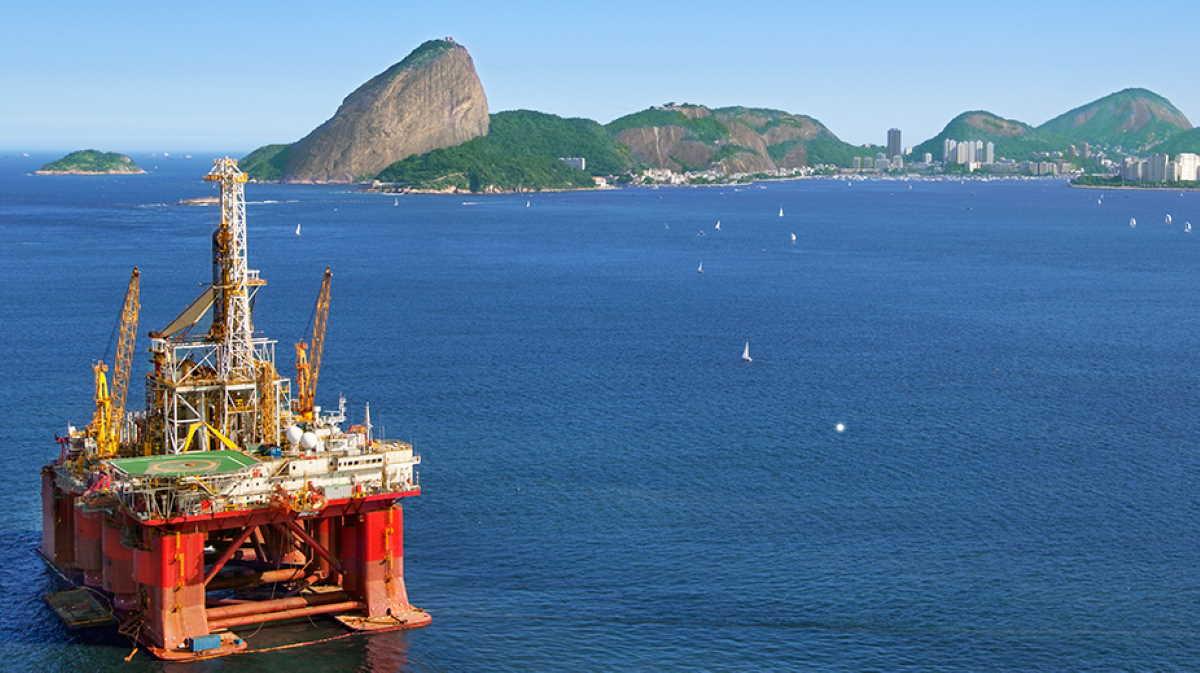 Brazil oil field