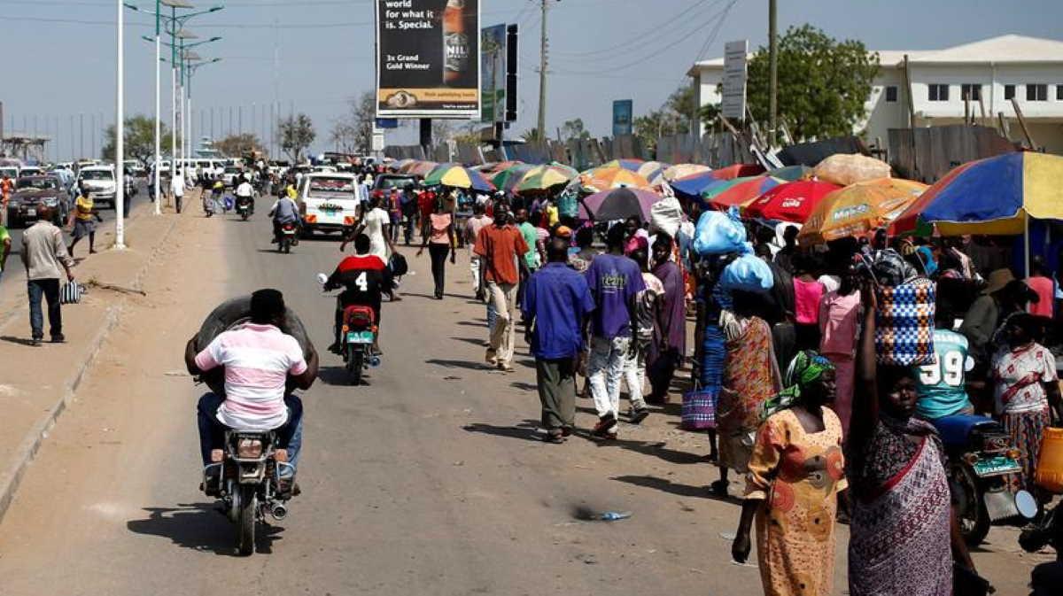 South Sudan street
