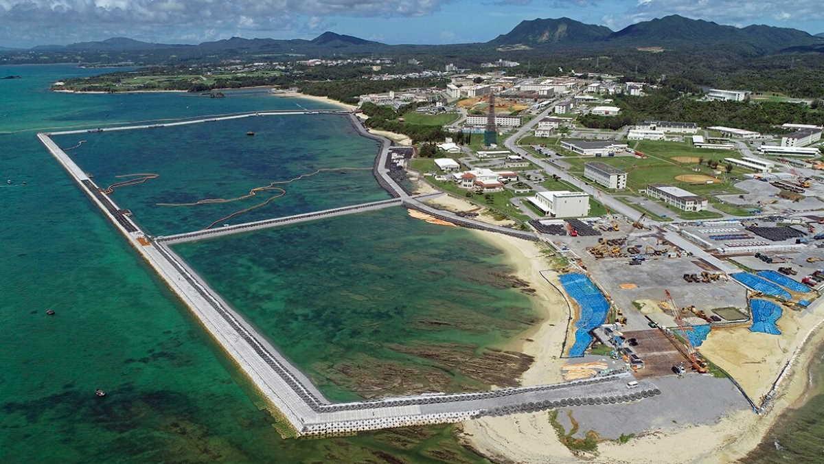 Okinawa Marine base