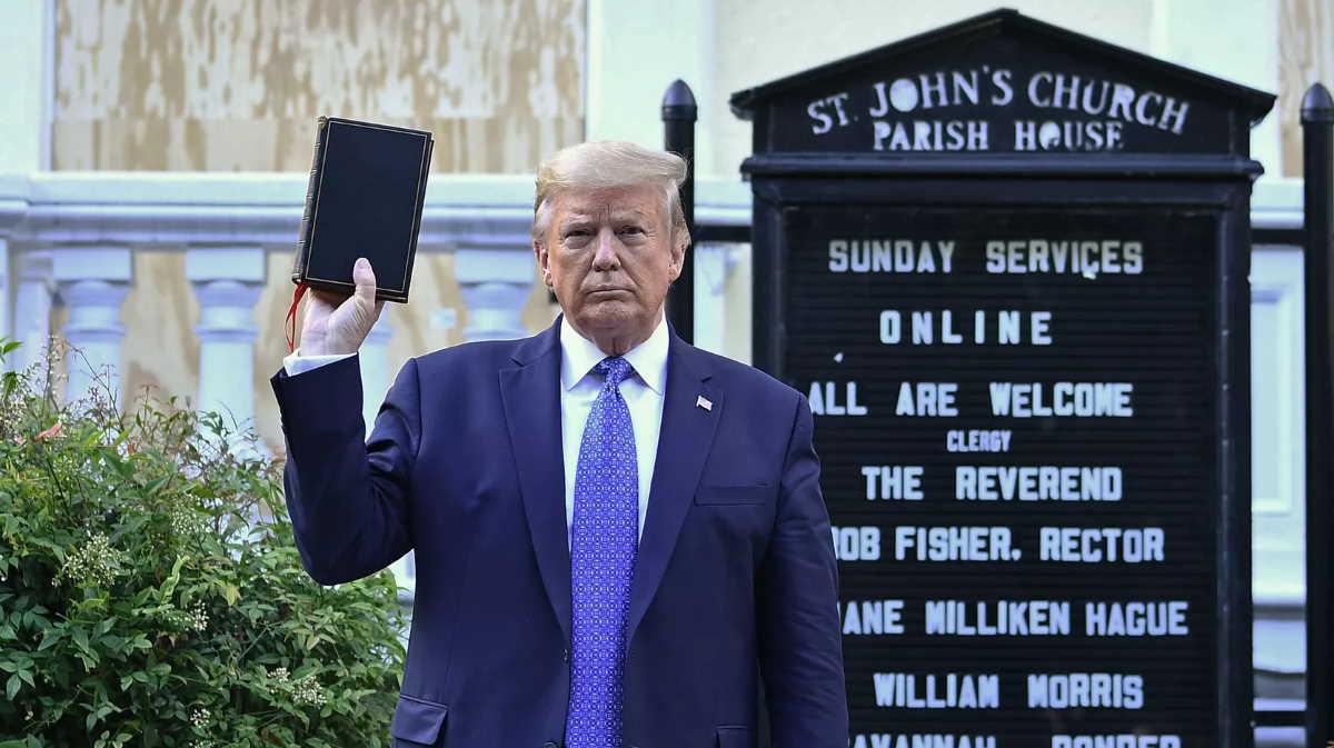 St. John's Church Trump