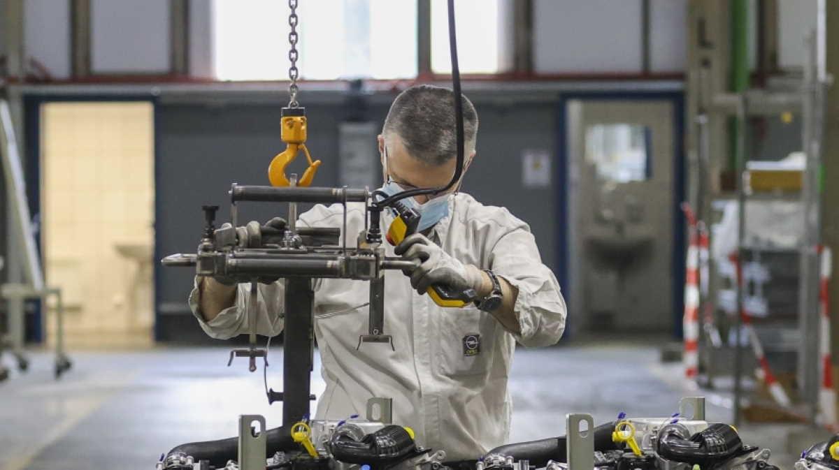Euro area factory