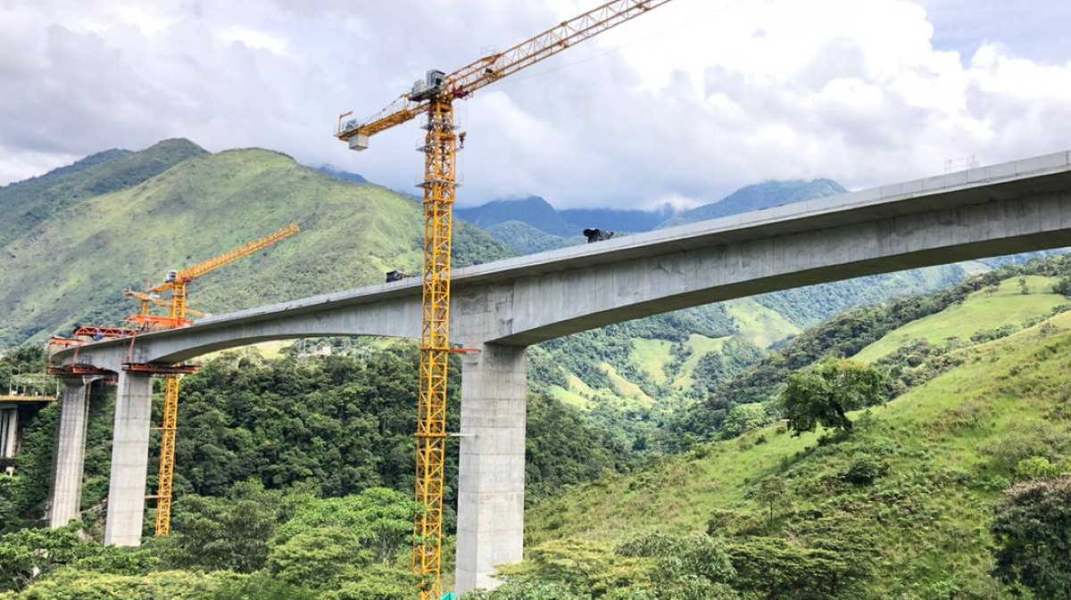 Colombian Charte bridge