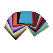 Silkepapir assortert 50x75cm - 28 g/m2