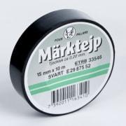 Tape elektro 15mmx10m sort