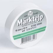 Tape elektro 15mmx10m hvit
