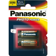 Batteri Panasonic LP lithium 2CR5