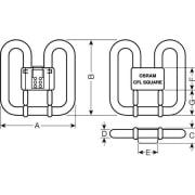 Kompaktlysrør CFL 28W/827 GR10q