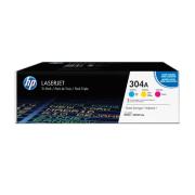 Toner HP 304A Tri-Pack CYM