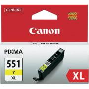 Blekk Canon CLI-551XL Y gul