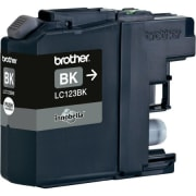 Blekk Brother LC-123BK sort
