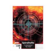 Spiralhefte A4 linjert 4-hull