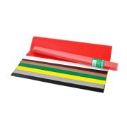 Glanspapir 35x50cm rull a 8 farger