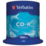 CD-R Verbatim 700MB 52x spindel 100pk