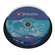 CD-R Verbatim 700MB 52x spindel 10pk