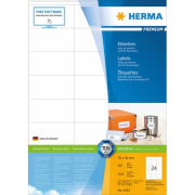 Etikett HERMA A4 70x36mm (100)
