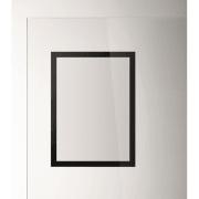 Magnetramme Duraframe UV A4 sort
