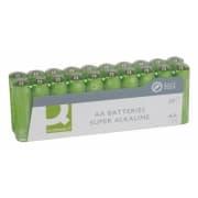Batteri Q-Connect alkalisk LR06/AA 1.5V