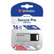 USB 3.0 minne Verbatim Secure Data 16GB