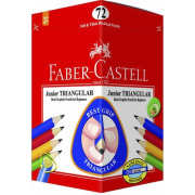 Blyant Faber Junior Triangular 2B 72pk