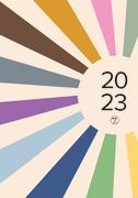 Dagbok A5 Retro 2021
