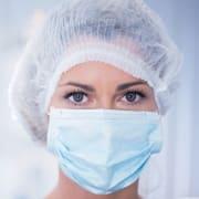 Munnbind kirurgisk type IIR EN14683 Gra