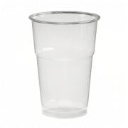 Glass 25cl plast myk enk.pakket RPET