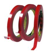 Tape poselukke 9mmx66m rød