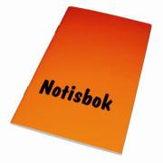 Notisbok 105 x 170mm linjert stiftet