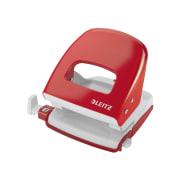 Hullemaskin Leitz 5008 2-hull rød