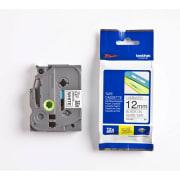 Tape Brother TZe-231 12mm sort/hvit