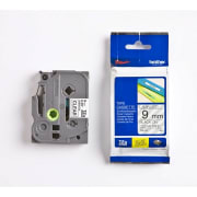 Tape Brother TZe-121 9mm Sort/Klar