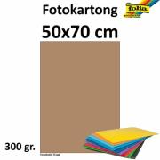 Fotokartong 50x70 300g brun 10pk