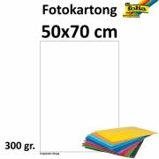 Fotokartong 50x70 300g hvit 10pk