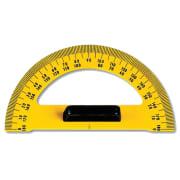 Tavletransportør 180 grader gul